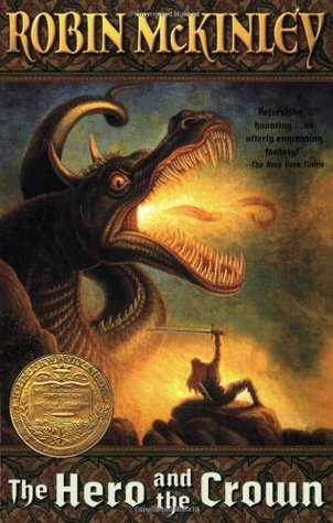 the hero and the crown by robin mckinley - best fantasy books about dragons for adults