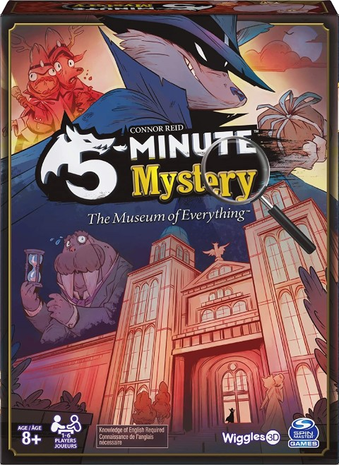 5-Minute Mystery The Museum of Everything - Mystery Board Game For The Whole Family (Small)