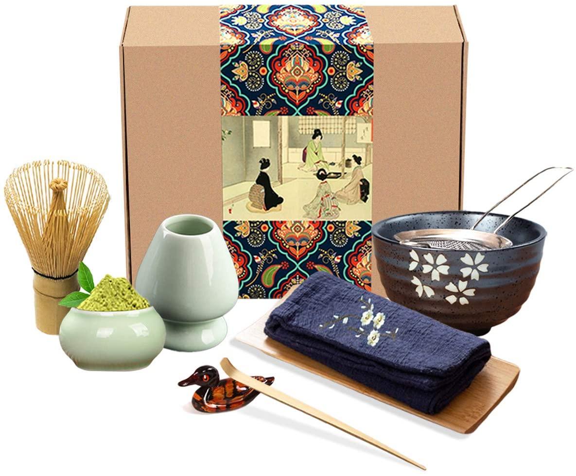 Artcome Japanese Matcha Tea Set - best souvenirs from Japan
