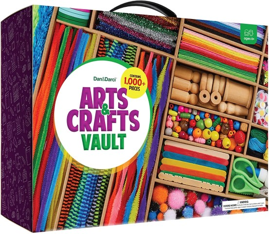 Arts and Crafts Vault - Fun Craft Gifts For Kids (Small)