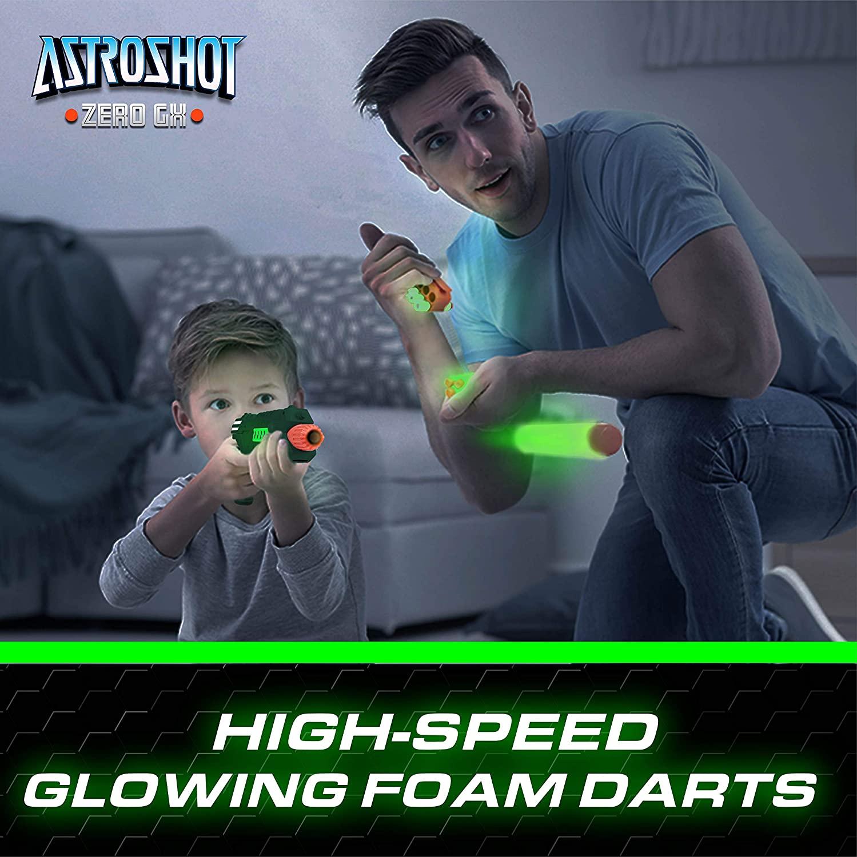Astroshot Zero GX Glow in The Dark Shooting Games for Kids
