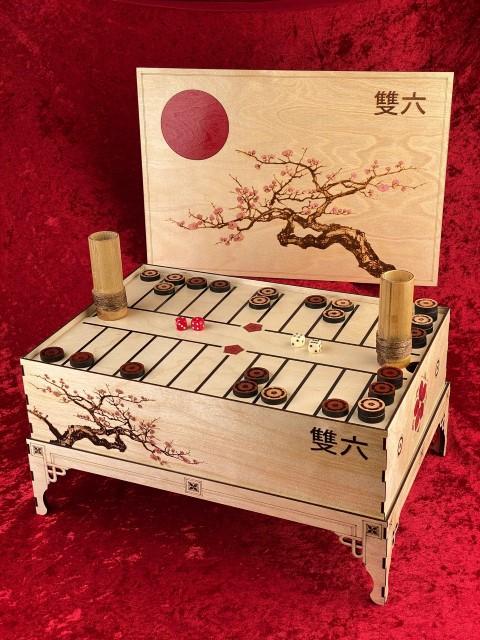 Ban Sugoroku - Ancient Japanese board Game (Small)
