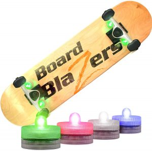 Board Blazers Crazy Color Changing LED Skateboard Lights Underglow