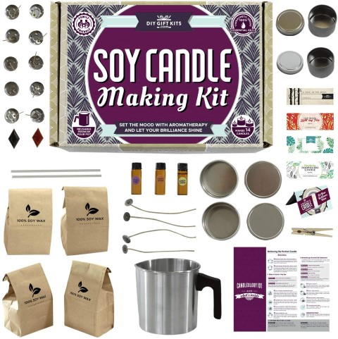 Candle Making Kit for Adults and Teens (Small)