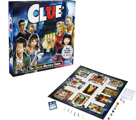 Clue - Classic Mystery Board Games (Small)