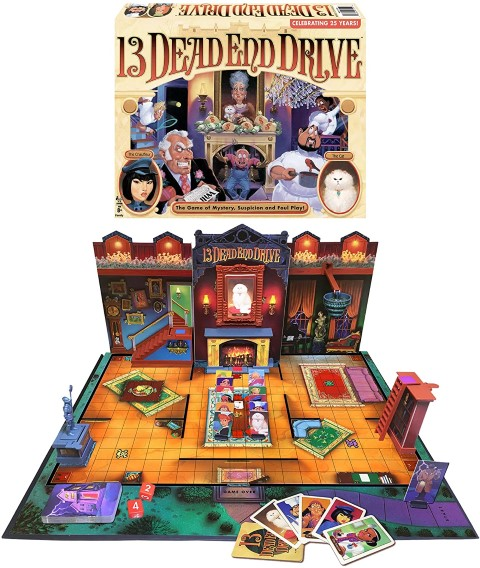 Dead End Drive - Mystery Board Game For Families (Small)