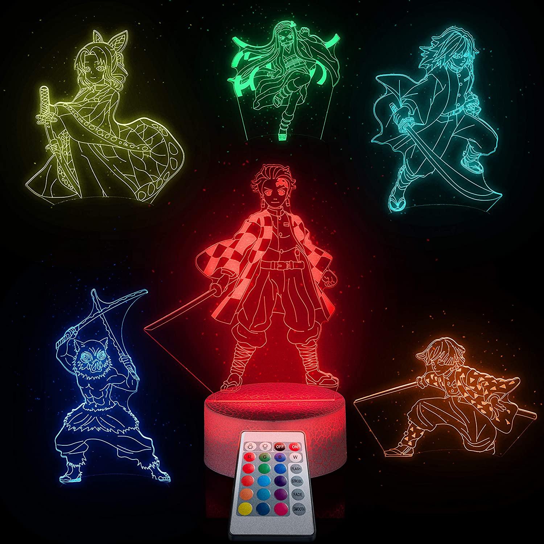 Demon Slayer Nightlight - cool gift ideas from Japan