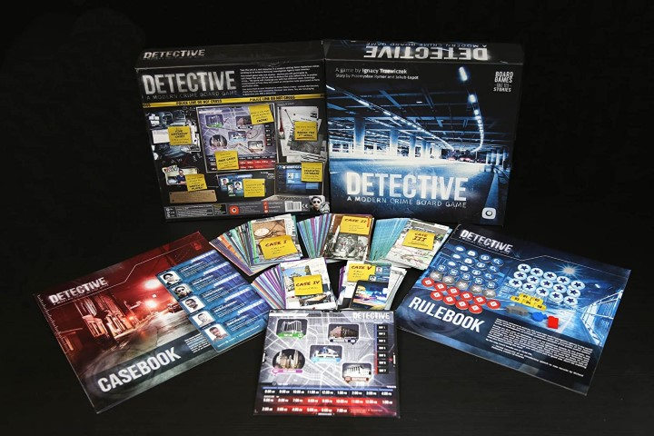 Detective - A Modern Crime Board Game For Adults (Small)