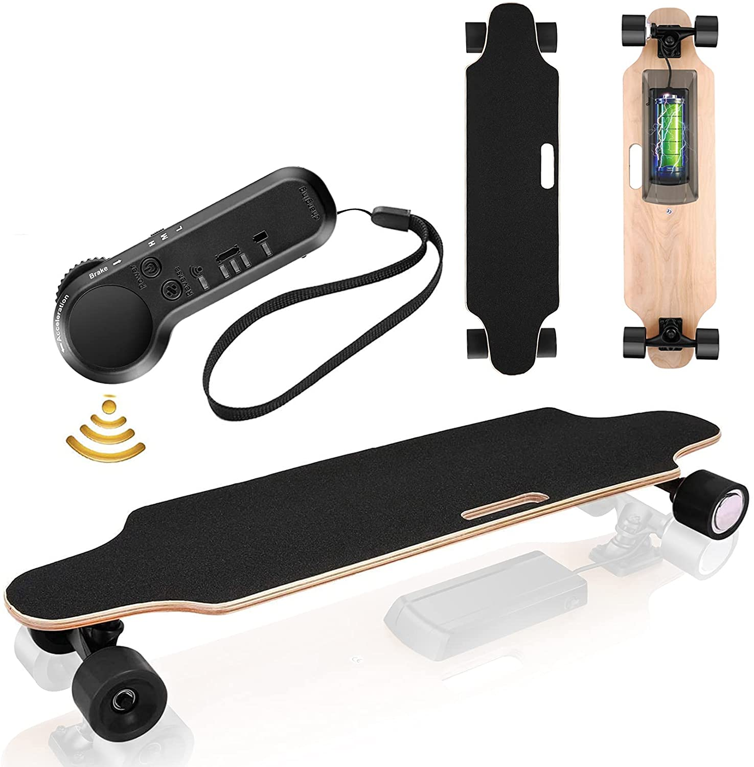 Electric Skateboard - longboard with remote