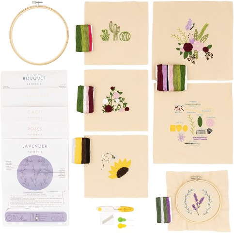 Embroidery Starter Kit - Last Minute Gifts For Crafters (Small)
