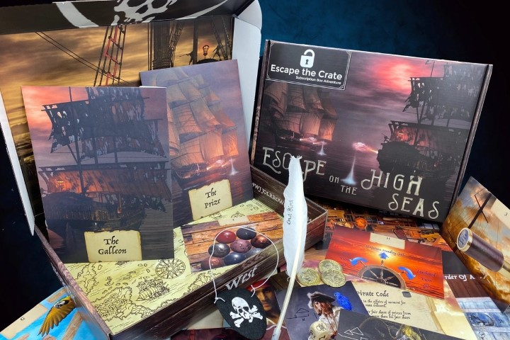 Escape the Crate An escape room adventure shipped straight to your door (Small)
