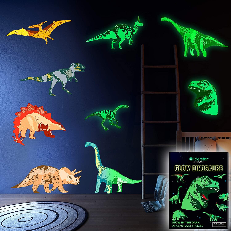 Gloe in The Dark Dinosaur Wall Stickers