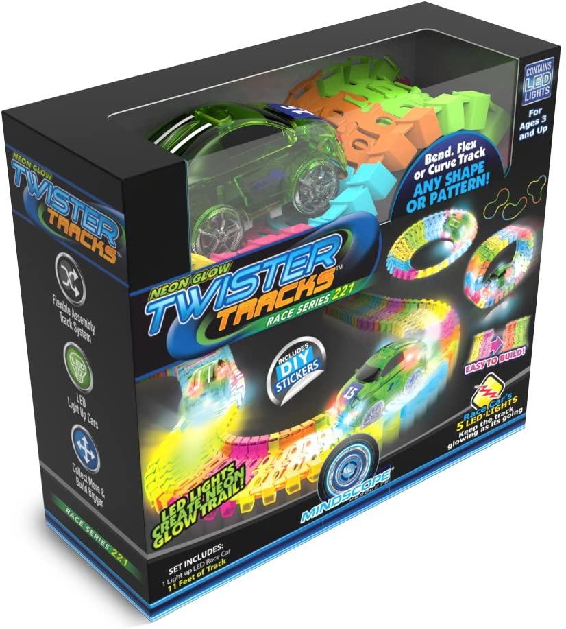 Glow In The Dark Twister Tracks for kids