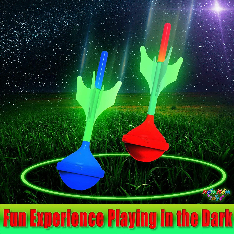 Glow in The Dark Lawn Darts Game Set
