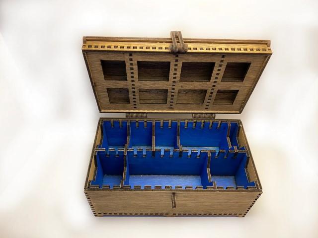 Handmade Wooden Large Deck Box (Small)