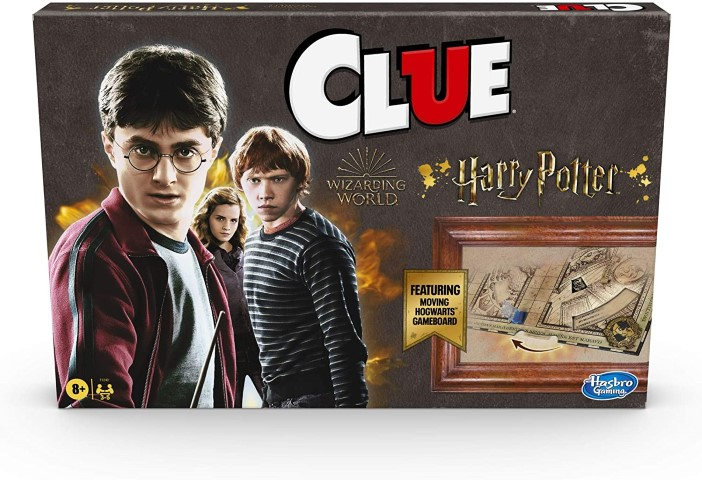 Hasbro Gaming Clue Wizarding World Harry Potter Edition Mystery Board Game (Small)