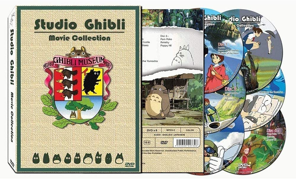 Hayao Miyazaki and Studio Ghibli Deluxe Edition