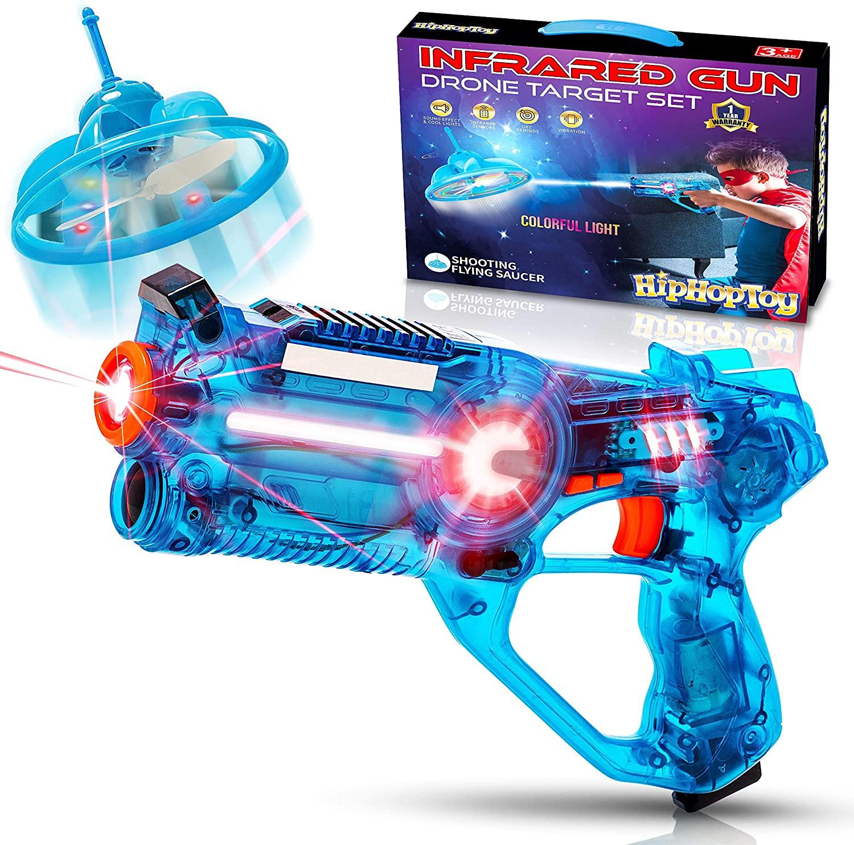 Kids Laser Tag Gun Game with Flying Toy Drone Target