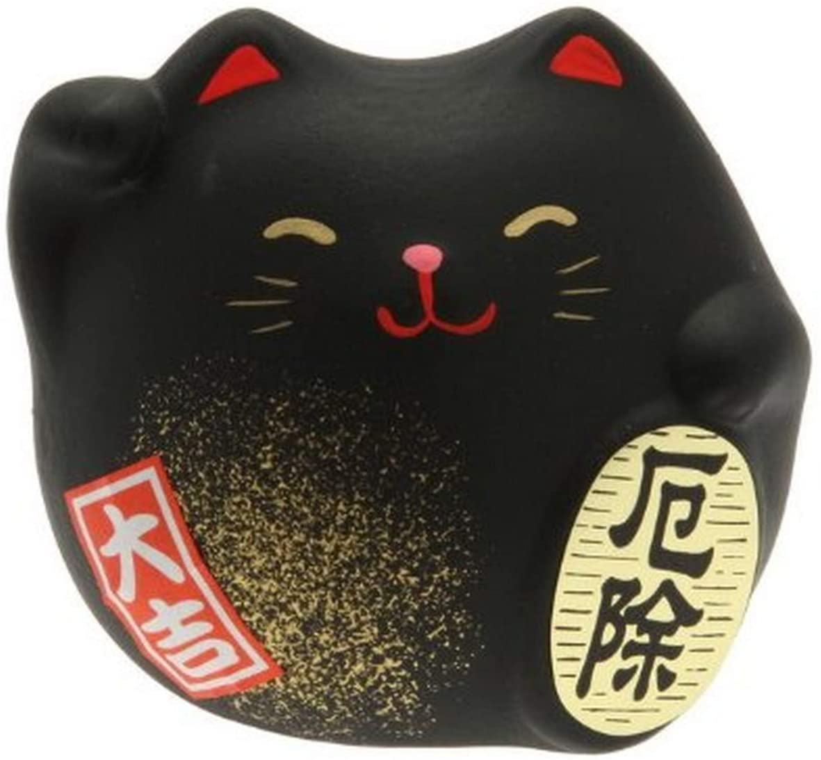 Kotobuki Maneki Neko Charm Yakuyoke-un - traditional souvenirs from Japan