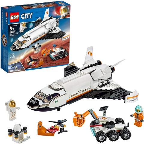 LEGO City Space Mars Research Shuttle 60226 Space Shuttle (Small)