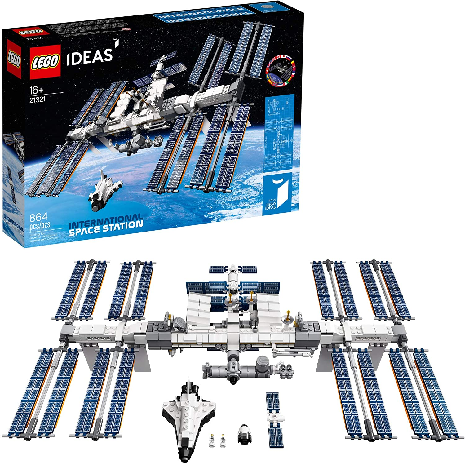 LEGO Ideas International Space Station - cool space gifts for dads