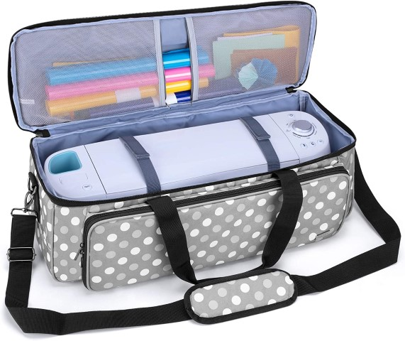 LUXJA Carrying Bag Compatible with Cricut Die-Cutting Machine and Supplies (Small)