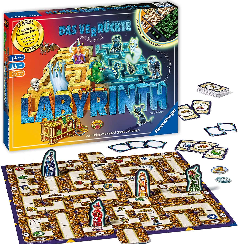 Labyrinth board game - Glow in the Dark