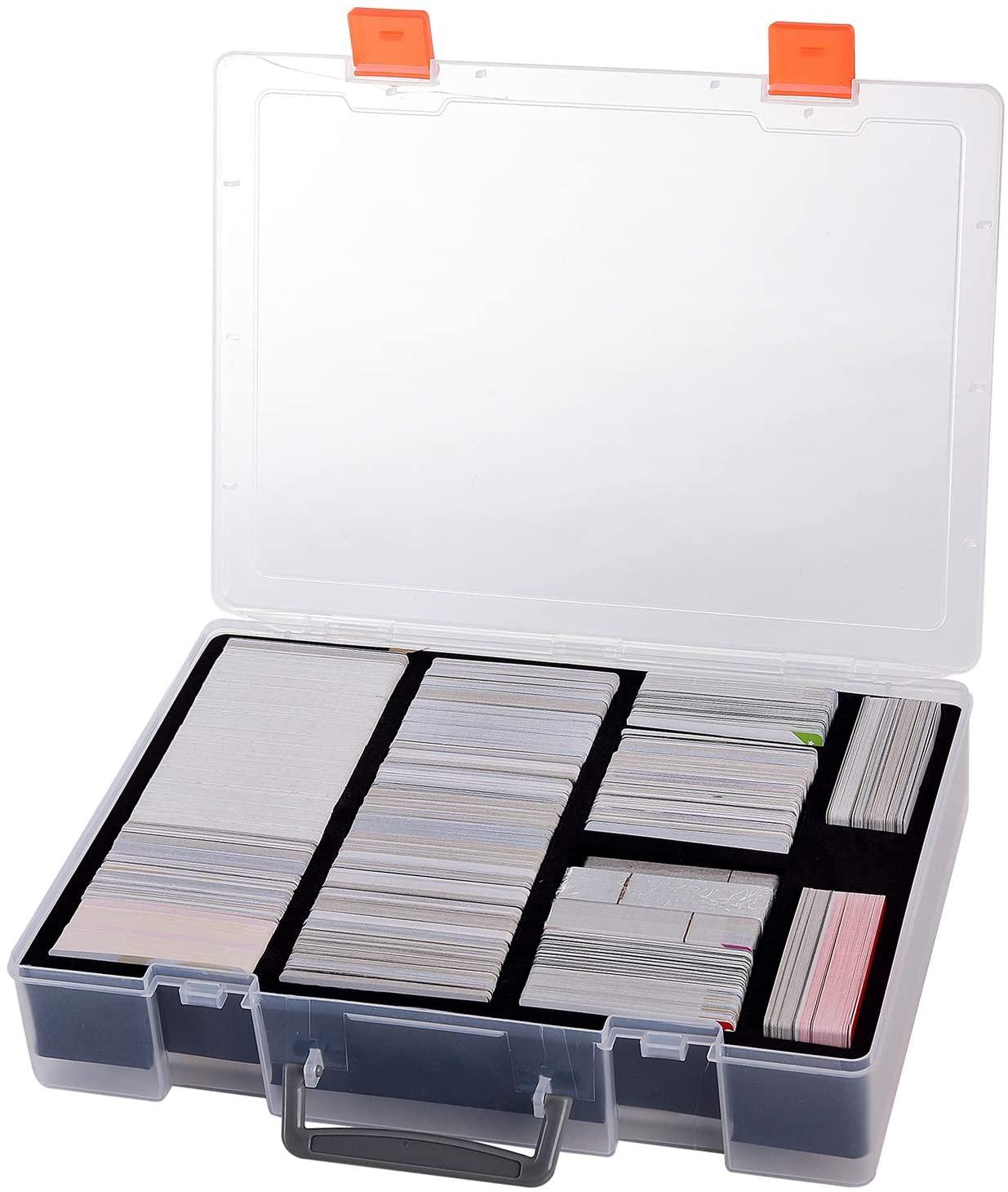 Large Card Deck Holder & Organizer - 2200 + Cards