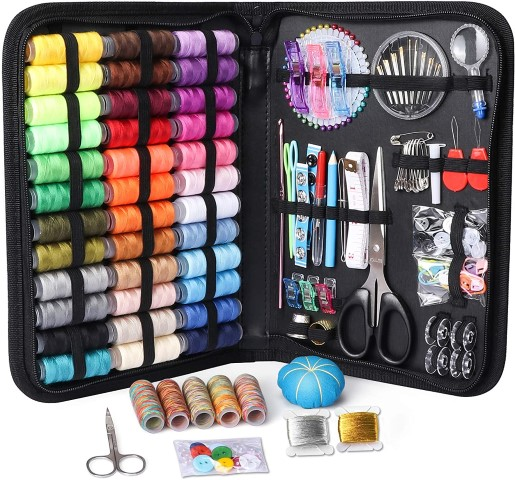 Large Sewing Kit - Last Minute Gifts For Crafters On A Budget (Small)