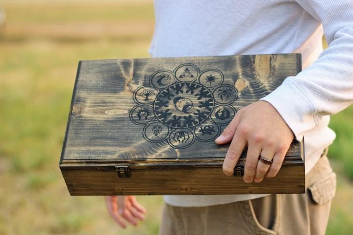 Magic The Gathering Dark Sturdy Deck Box (Small)