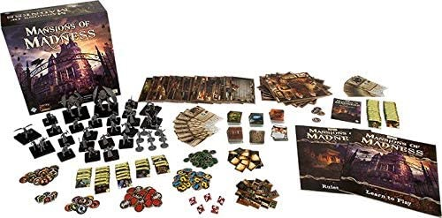 Mansions of Madness - Horror Mystery Board Game (Small)