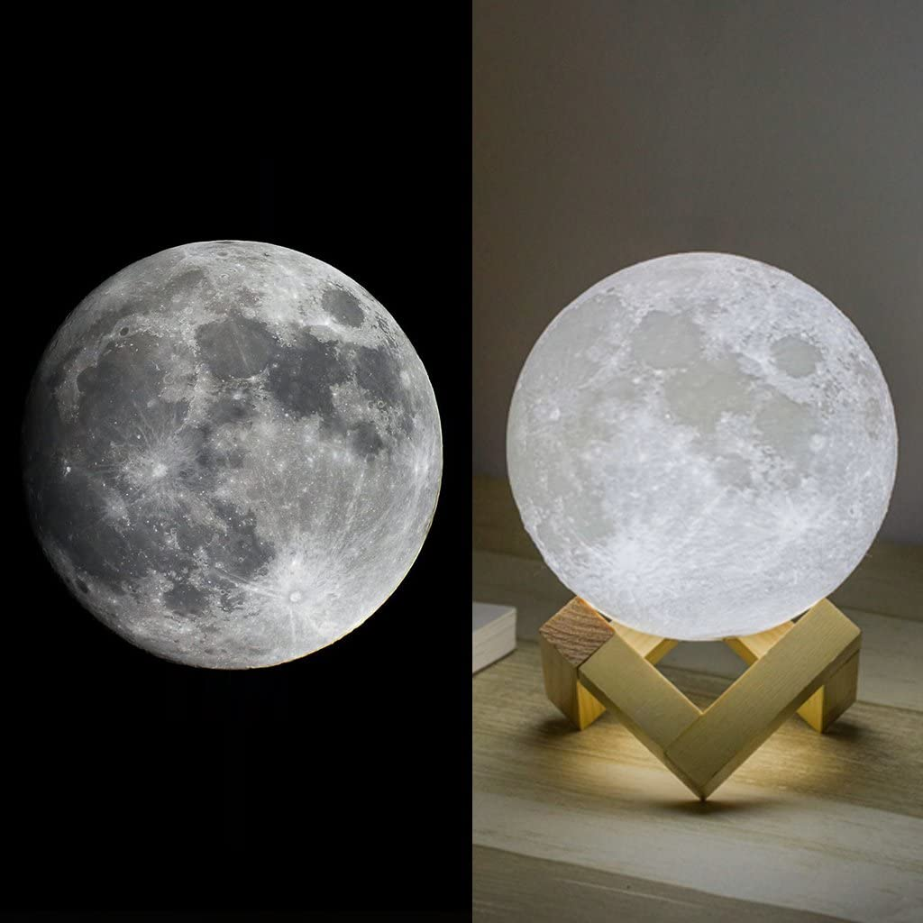 Mydethun Moon Lamp - best gifts for space lovers