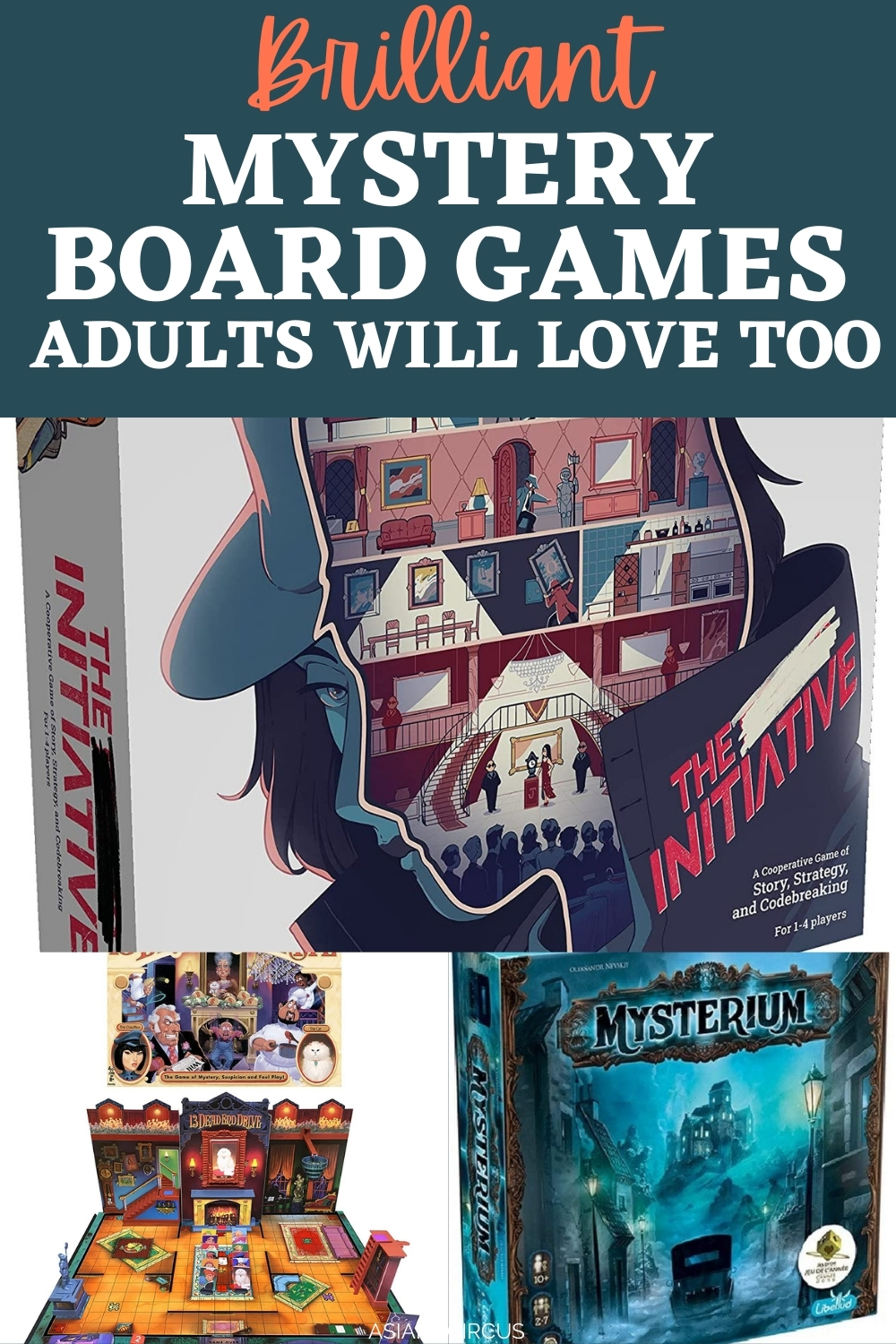 Mystery Board Games For
