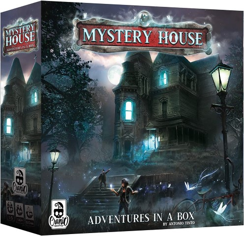 Mystery House - mystery board games for adults (Small)