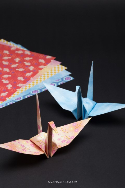 Origami - traditional Japanese hobbies (Small)