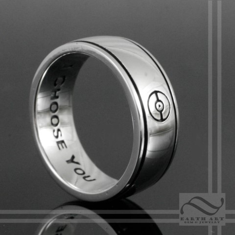 Pokemon Wedding Rings For Nerds (Small)