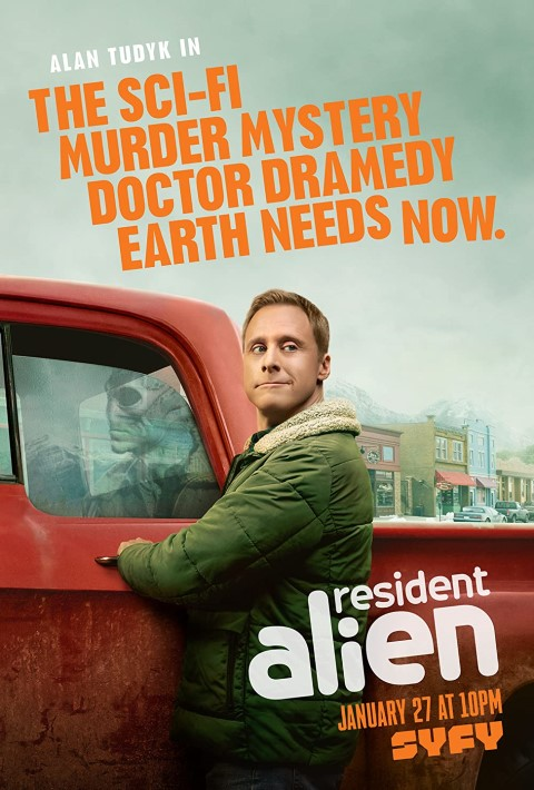 Resident Alien - best new shows with aliens (Small)