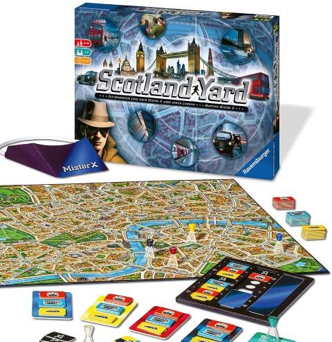Scotland Yard - mystery board game (Small)