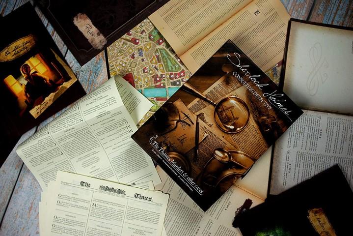 Sherlock Holmes mystery board game (Small)