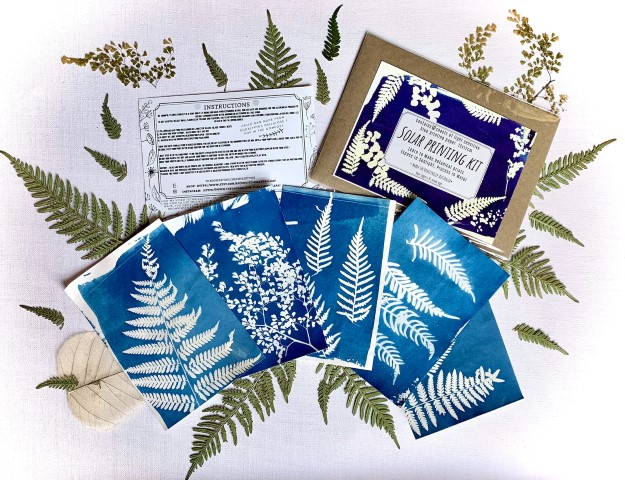 Solar printing kit - DIY Gift ideas for Crafters (Small)