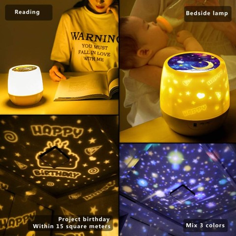 Star Projector Night Lights for Kids (Small)