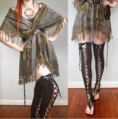 Steampunk leggings (Small)