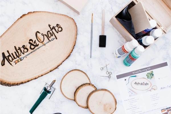The Adults & Crafts Crate (Small)