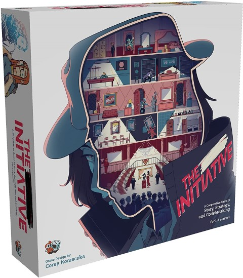 The Initiative - Strategy Mystery Board Game For Adults (Small)