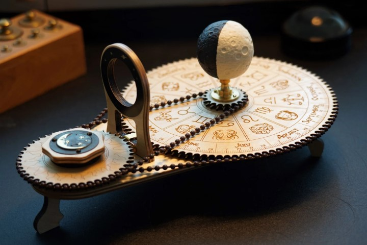 The Moondial Moon Phase Mechanical Astronomy Calendar (Small)