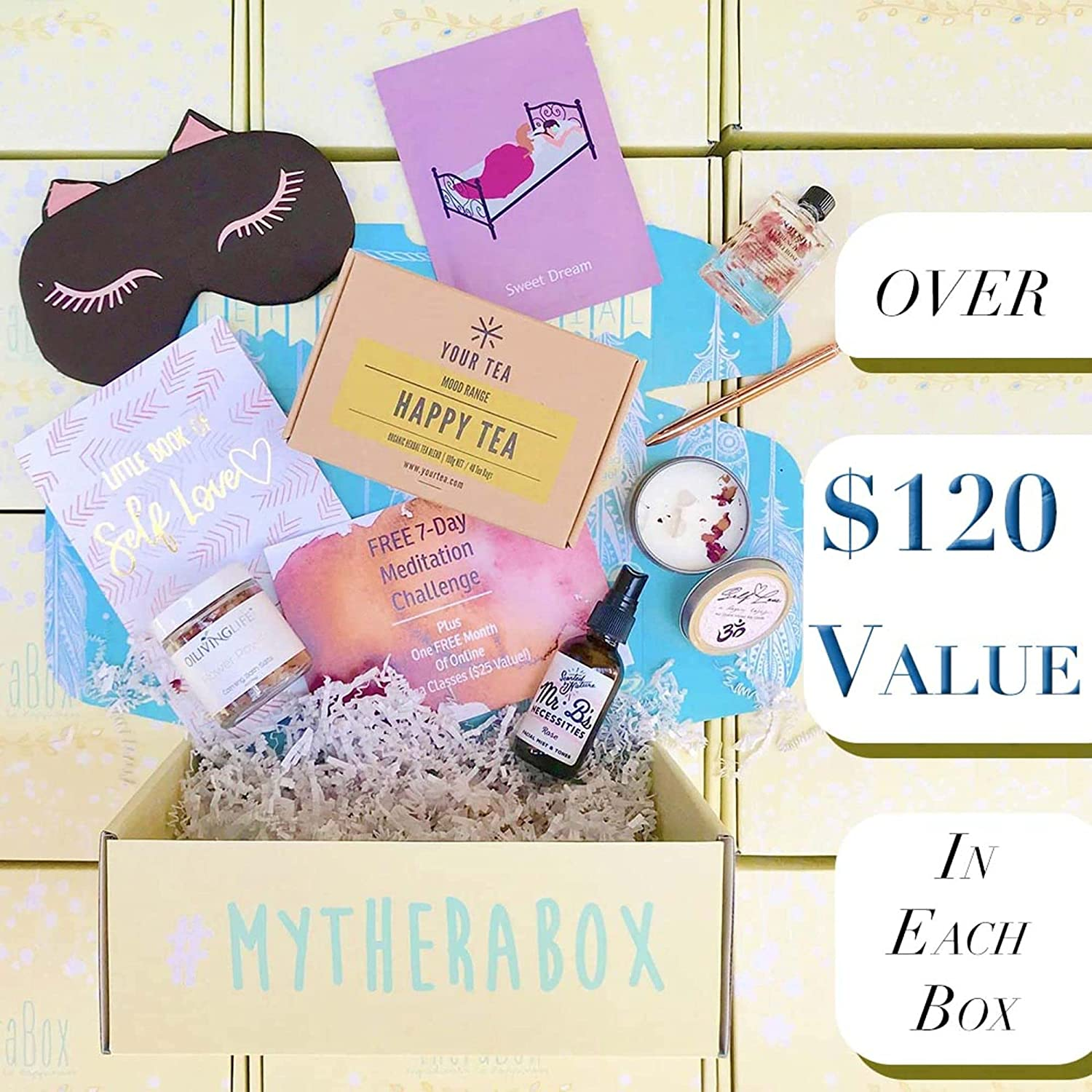 TheraBox - Self Care Subscription Box For Teens