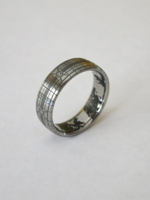 Titanium Band - Wedding Ring For Gamers (Small)