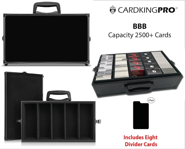 Trading Card Storage Case - 2500+ Cards (Small)
