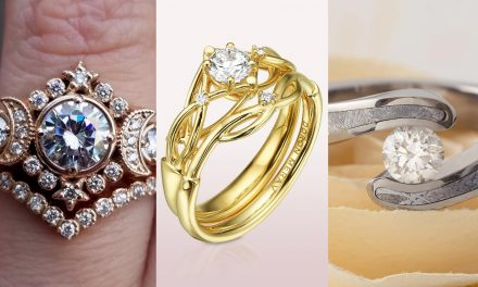 Unique Wedding & Engagement Rings For Nerds & Geeks