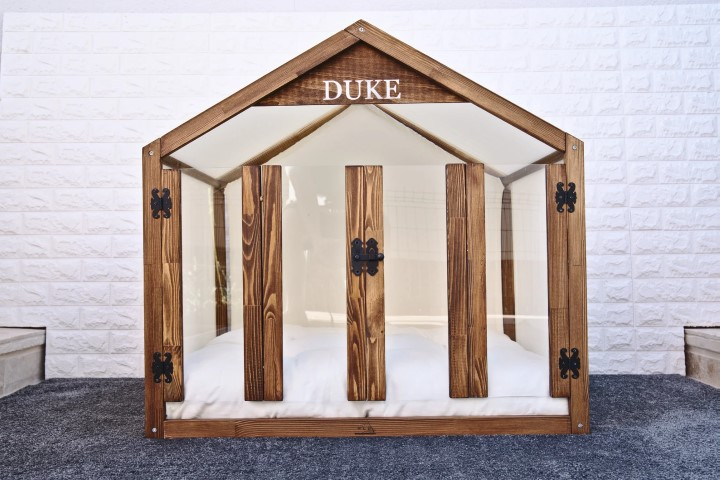 Unique wooden Dog furniture - woodworking projects that sell (Small)
